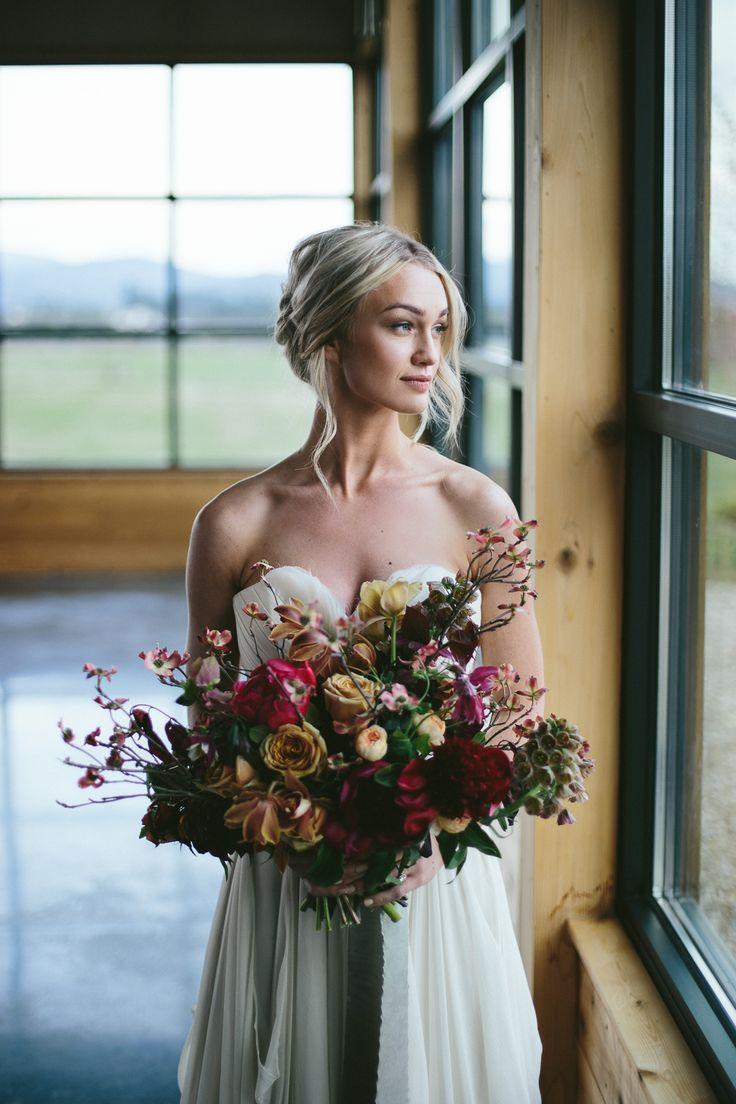 Wedding Inspiration at Trezzi Farm Winery//Green Bluff, WA ...