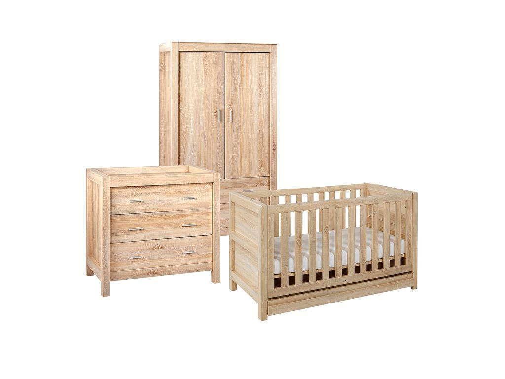 Tutti Bambini Milan 3 Piece Room Set Baby Bedroom Sets Baby Bedroom Furniture Nursery Furniture Sets