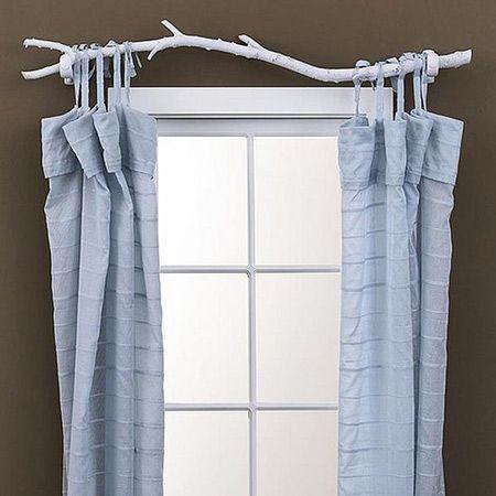 Unique curtain rod