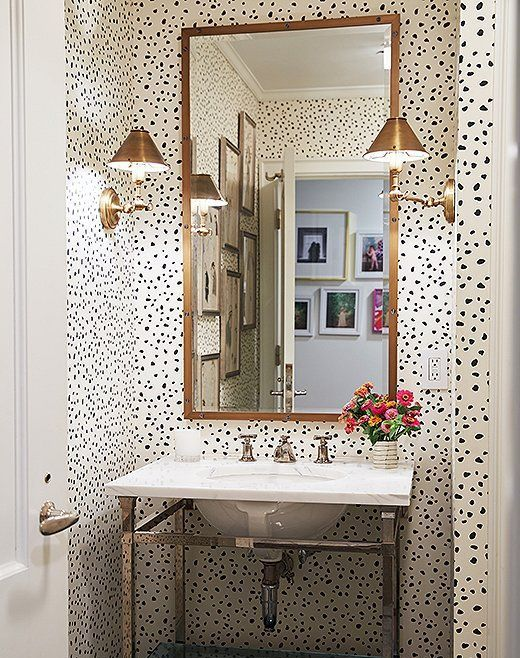 Wallpaper Still Very Much In Colour Your Casa Downtown Apartment Bathroom Design Bathroom Styling