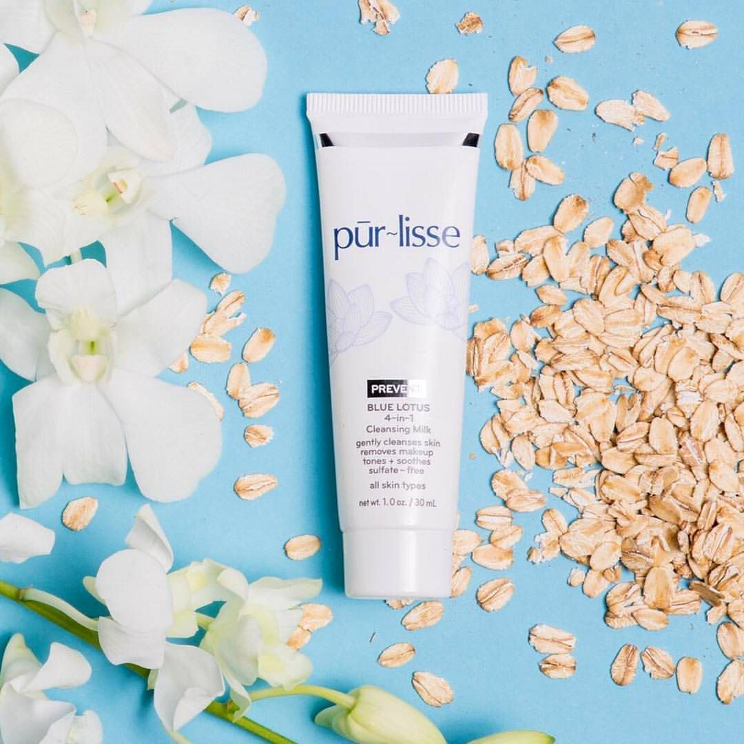 Blue Lotus 4in1 Cleansing Milk + Makeup Remover is a