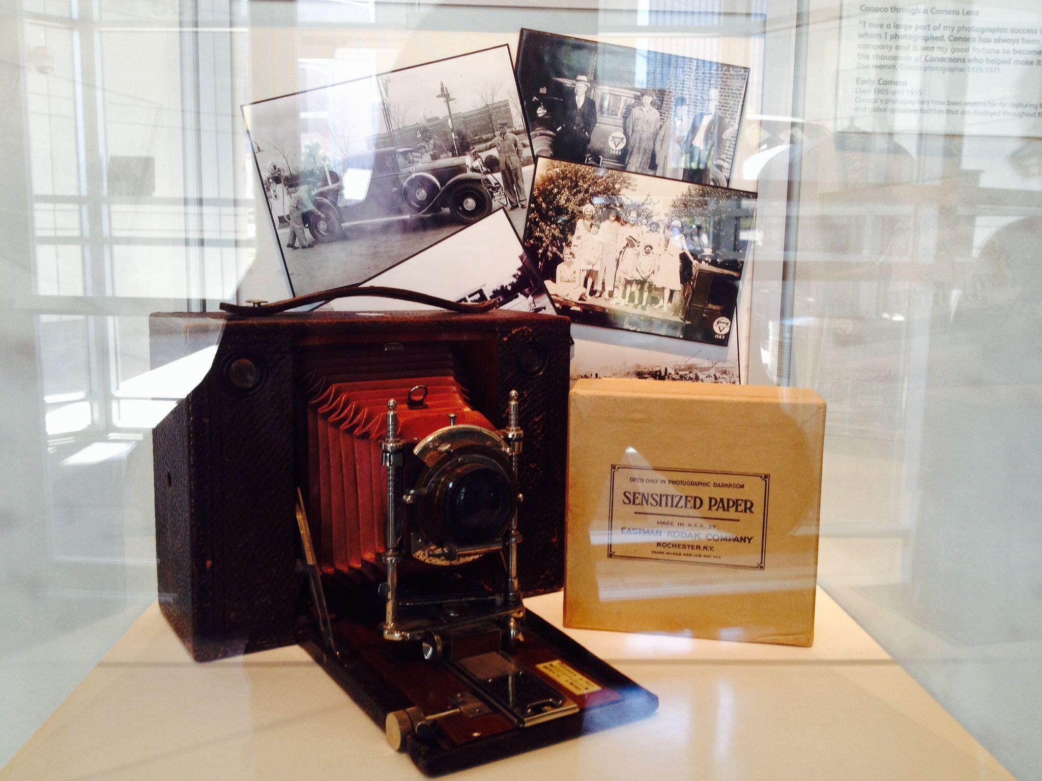 Conoco photography equipment for marketing Ponca city