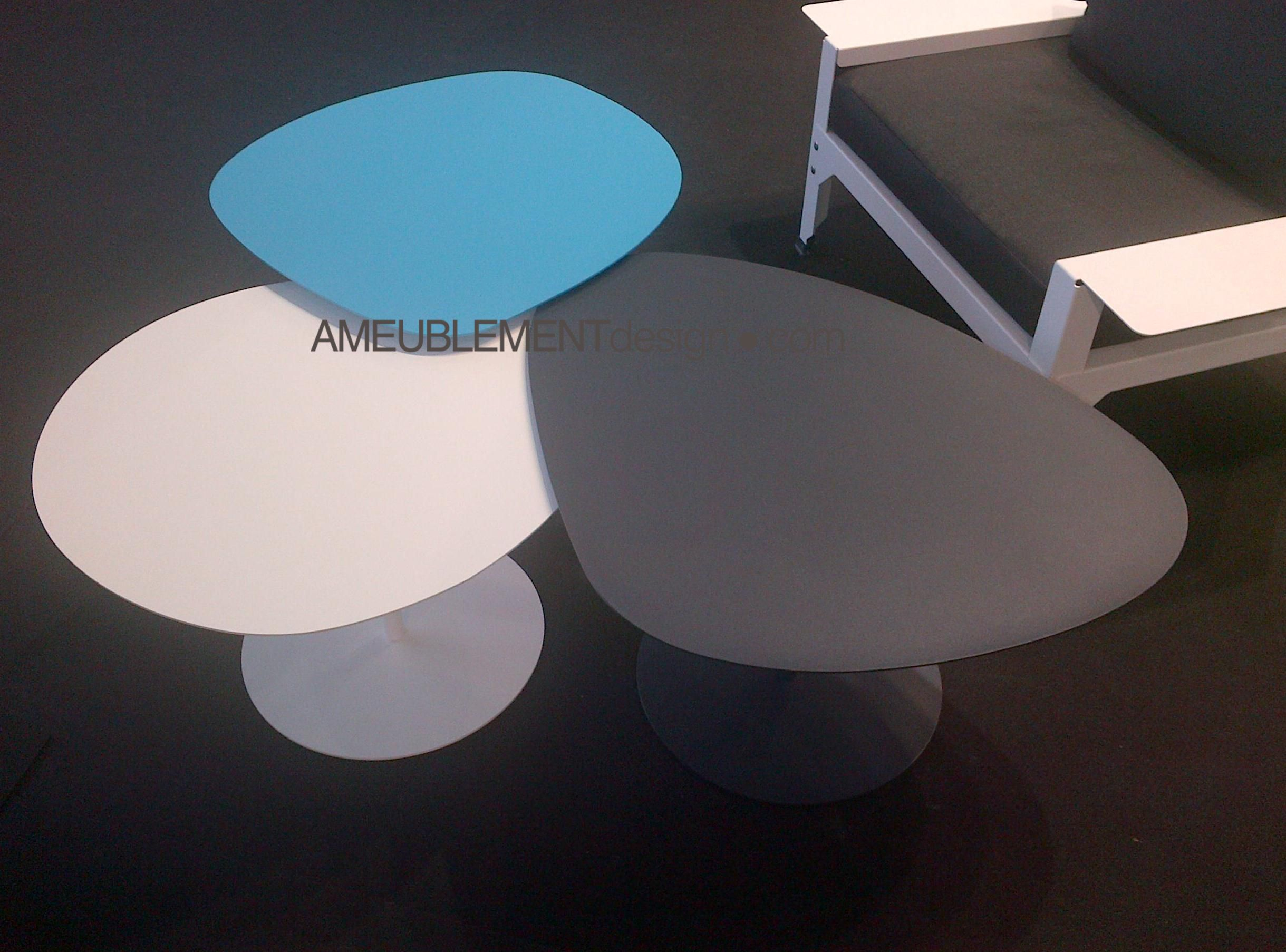 Table Basse 3 Galets By Matiere Grise Salon Maison Et Objet Table Basse Maison Et Objet