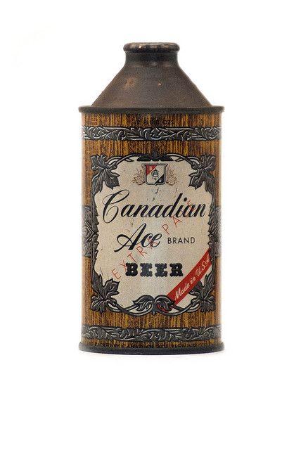 Canadian Ace Bierblikjes En Bier