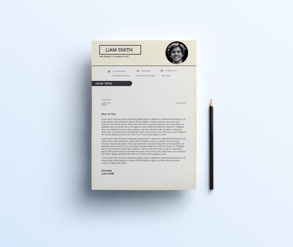 3 Page CV Template @creativework247