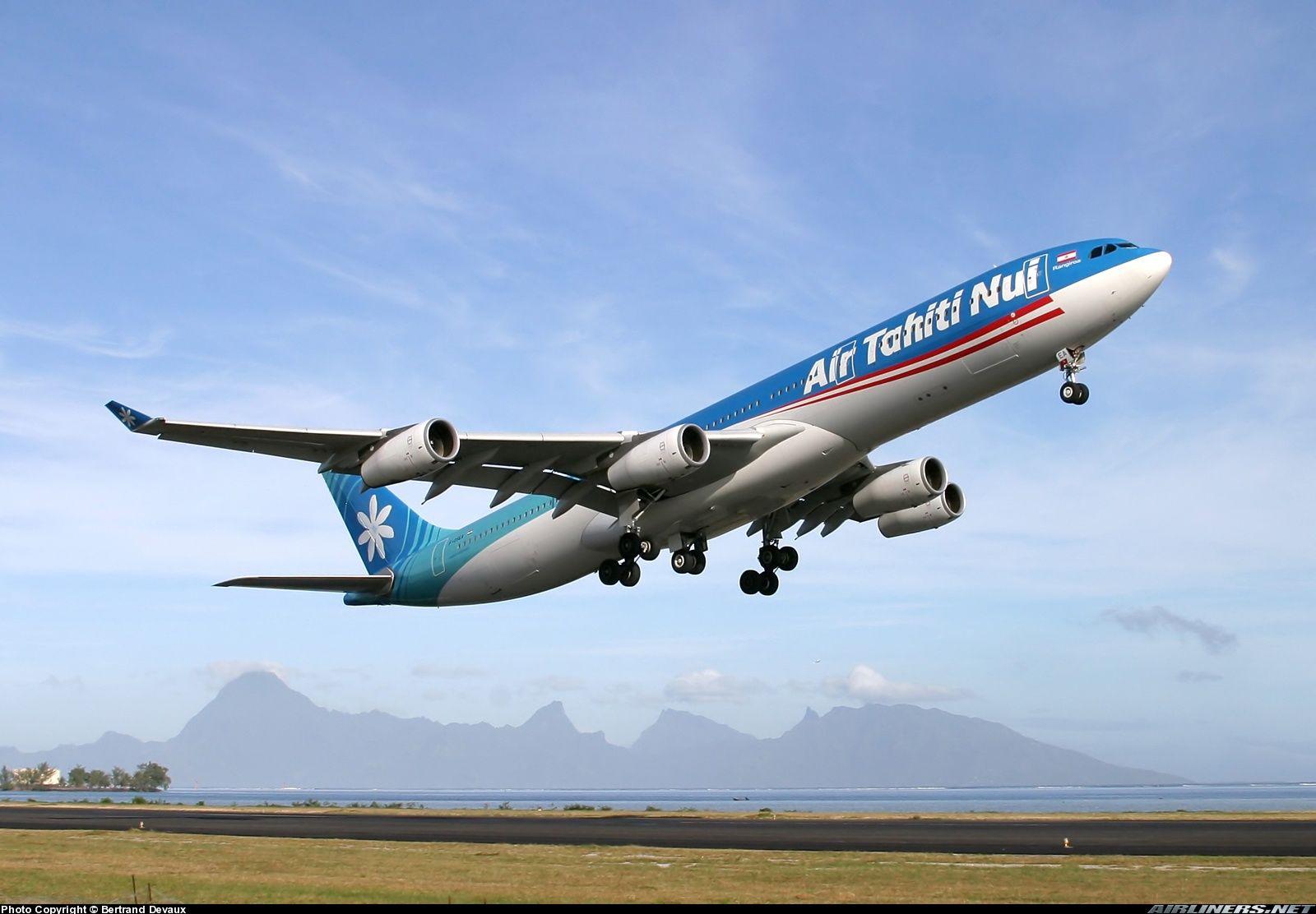 Pin on Air Tahiti Nui