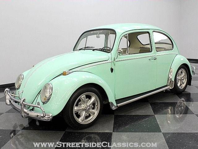 1966 Volkswagen Beetle 2 Tone Int Mint Green What S Not To Love