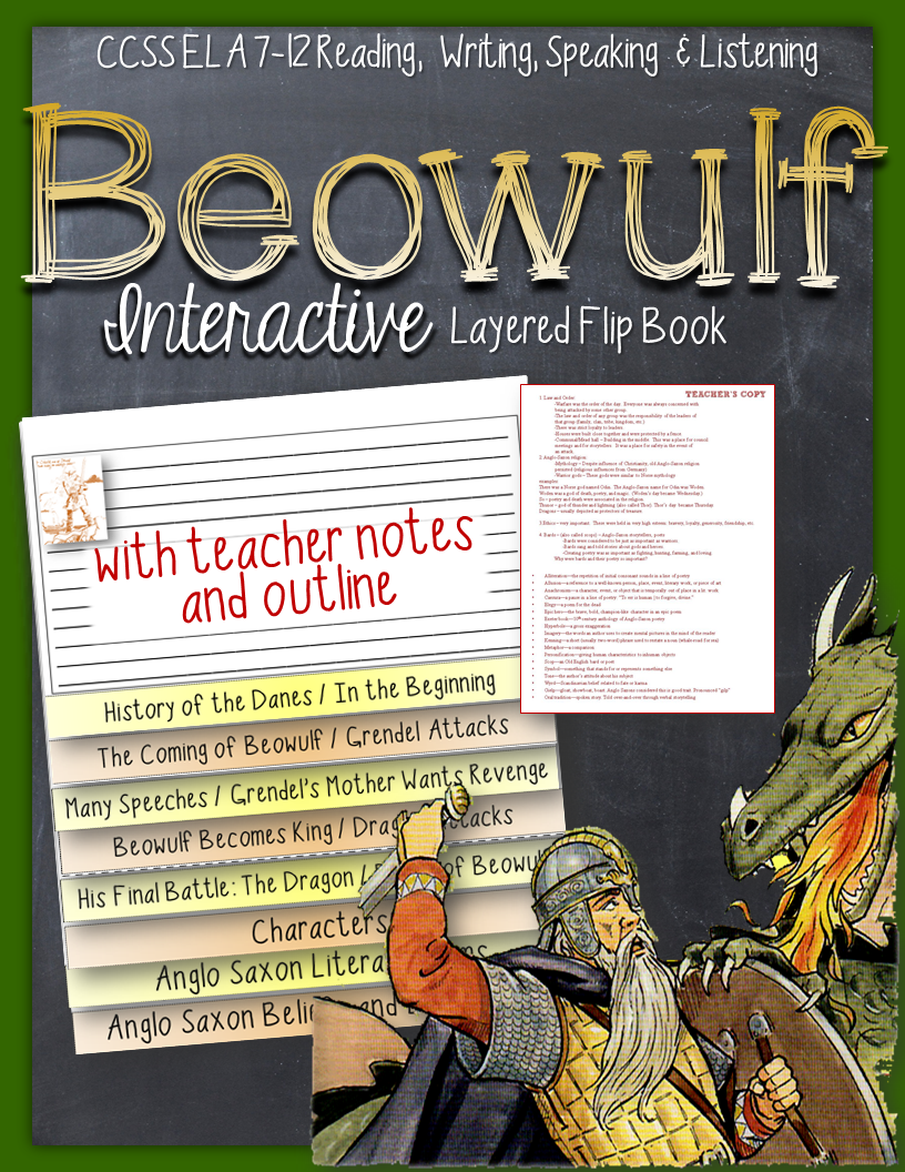 a comprehensive analysis of beowulf an anglo saxon epic Characteristics of true heroic epics and anglo-saxon poetry are all present in the story of beowulf the society of this time is shown in this splendid piece of literature anglo-saxon society was comparatively well developed, branching out from the family unit to the clan and tribe and then to the kingdom.