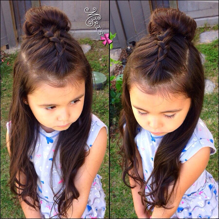 Hair style for little girls  Hair styles, Girl hair dos, Picture
