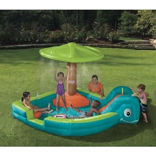 Purchasing this gem little tikes wade lagoon little for Toys r us piscine
