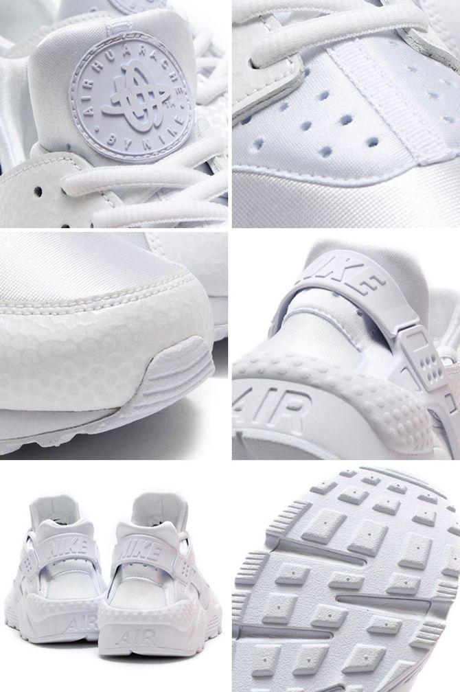 promo code 4b3d2 a061e Nike Womens Air Huarache White   Sole Collector