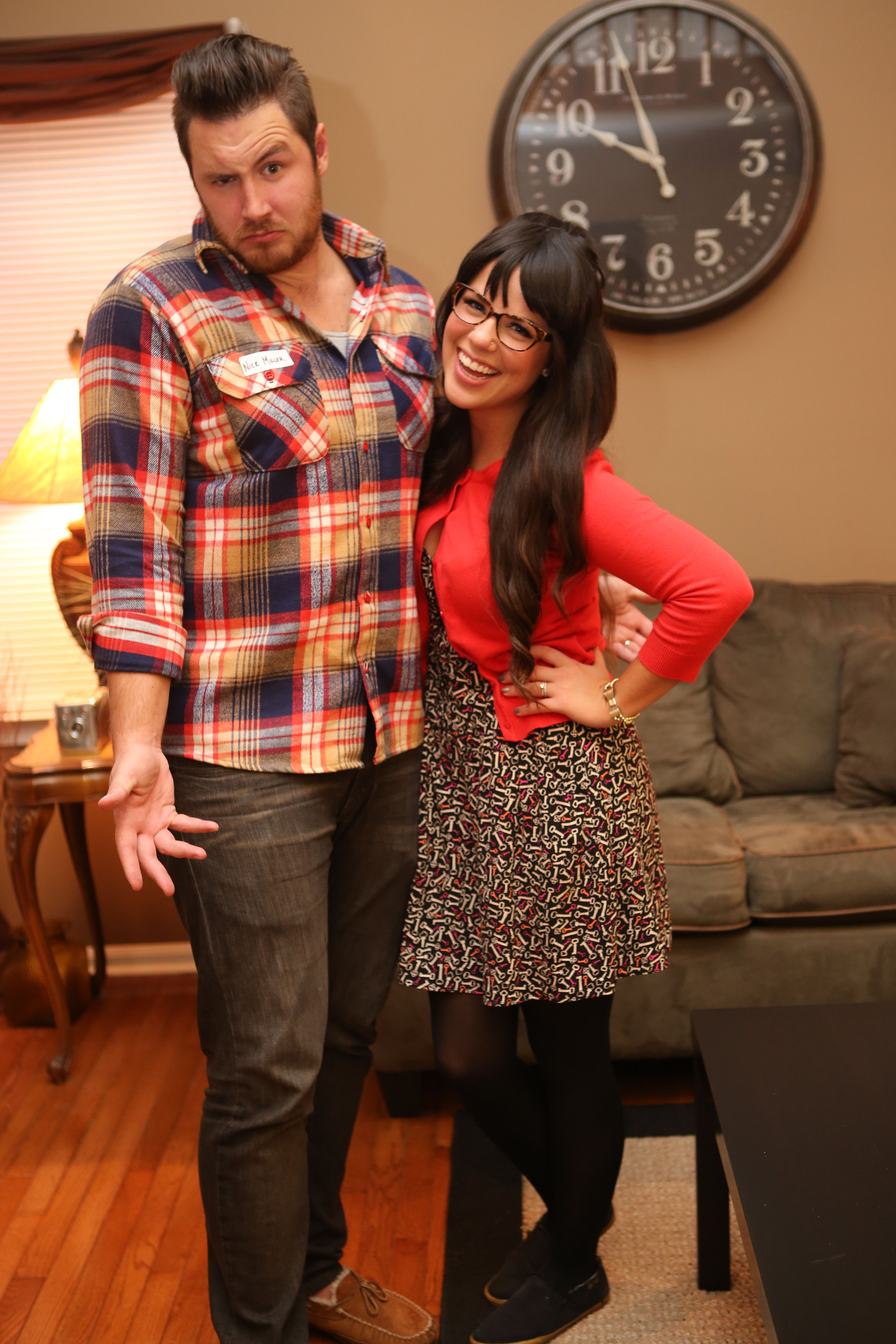 Couples Halloween Costume: Jess and Nick from New Girl. Zoe ...