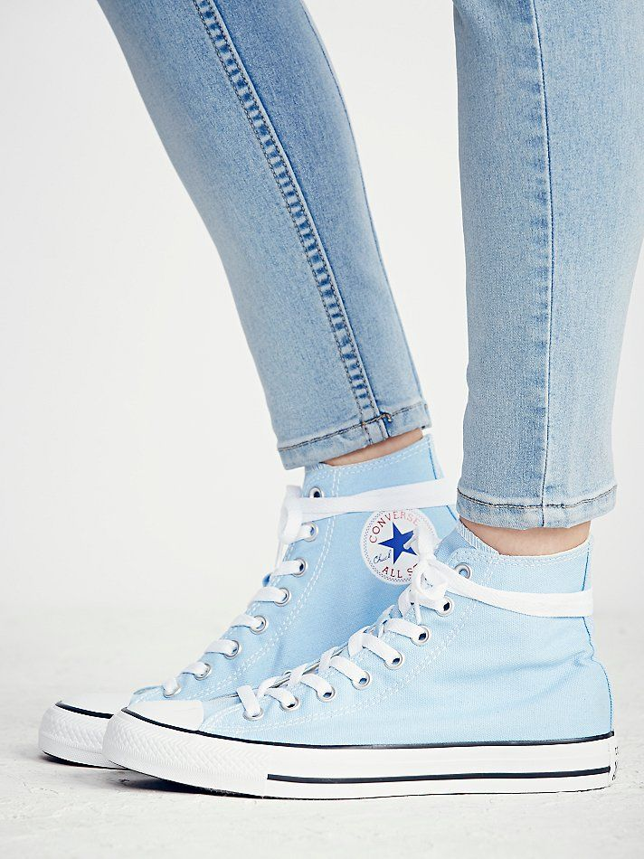 Classic Converse Chuck Taylor All Star High Tops Light