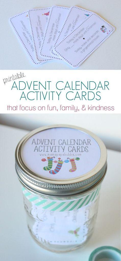 55+ Ideas Holiday Party Activities For Kids Advent Calendar #adventcalendarideasdiy