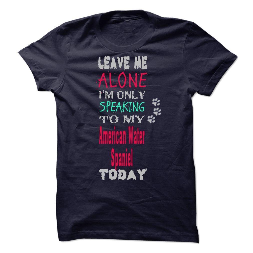 Cute American Water Spaniel T Shirt Cool t shirts, T shirt