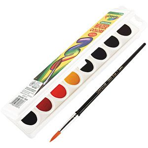 Crayola Watercolors 8 Assorted Colors 3 87 Art Sets For Kids