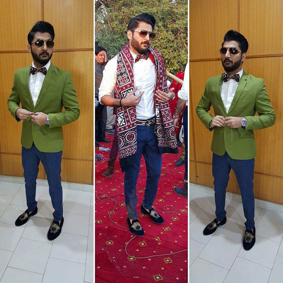 Bilal Saeed Traditional Fashion Singer Actresses