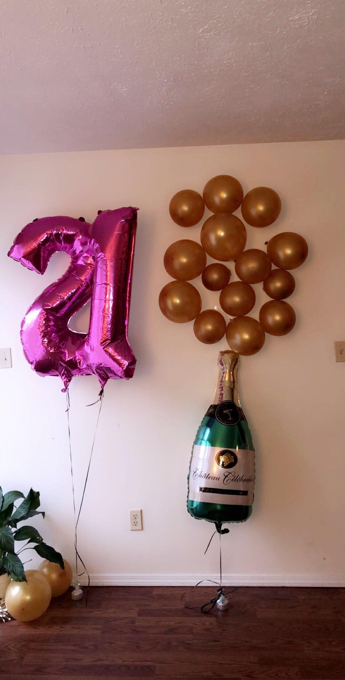 21st bday party!! decoratingideas birthday 21 Bday