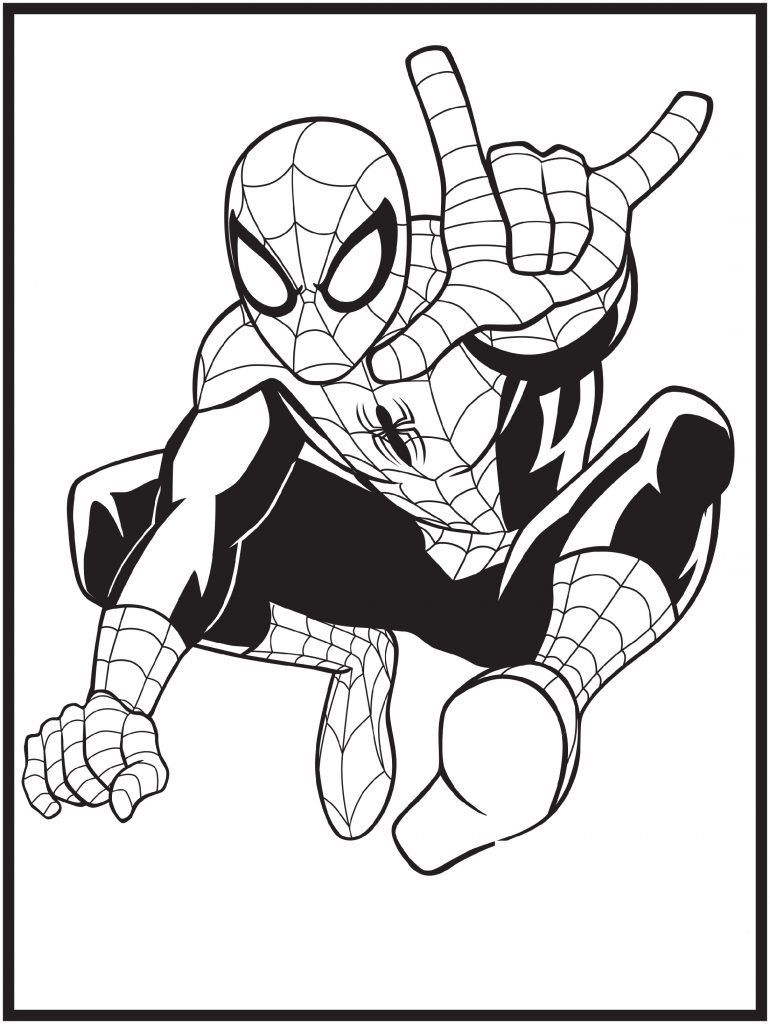Spiderman Coloring Pages Superheroes 101 Coloring Spiderman Coloring Superhero Coloring Pages Coloring Pages
