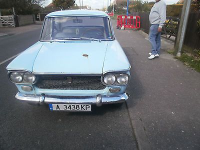 Fiat Mille Trecento 1300   - http://classiccarsunder1000.com/?p=68713