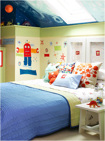Key Interiors By Shinay: Fun Young Boys Bedroom Ideas Dinou0027s And Space  Creatures U003d Jakes New Room!