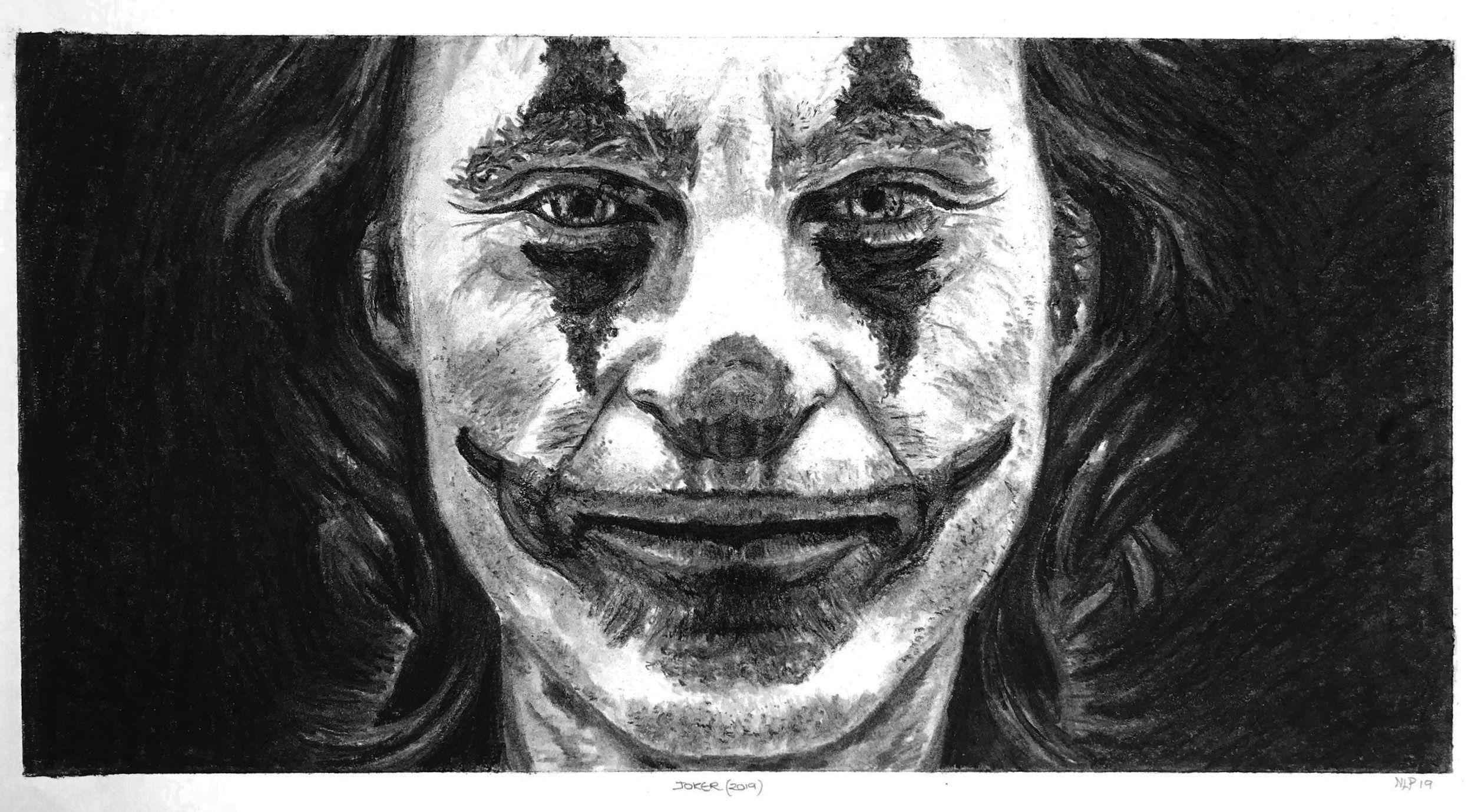 Joker By Nikki Louise In 2020 Joker Charcoal Art Artwork