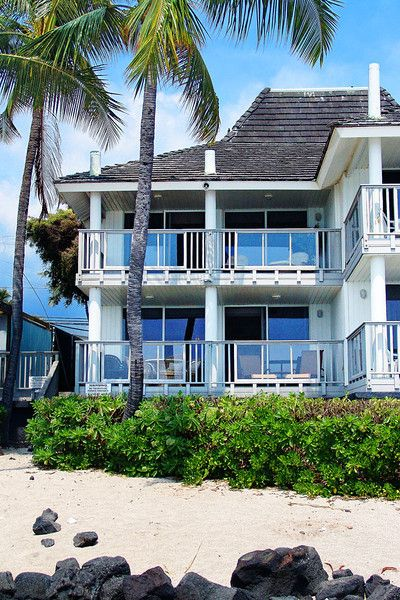 Welcome To Kona Beach Retreat Our Oceanfront Kailua Vacation Al House We Think It S The Best Place Ve Ever Stayed