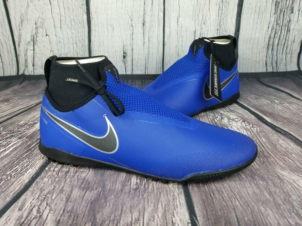 4e39bb76d47 Advertisement(eBay) Nike React Phantom VSN Pro DF TF Racer Blue Black AO3277  400