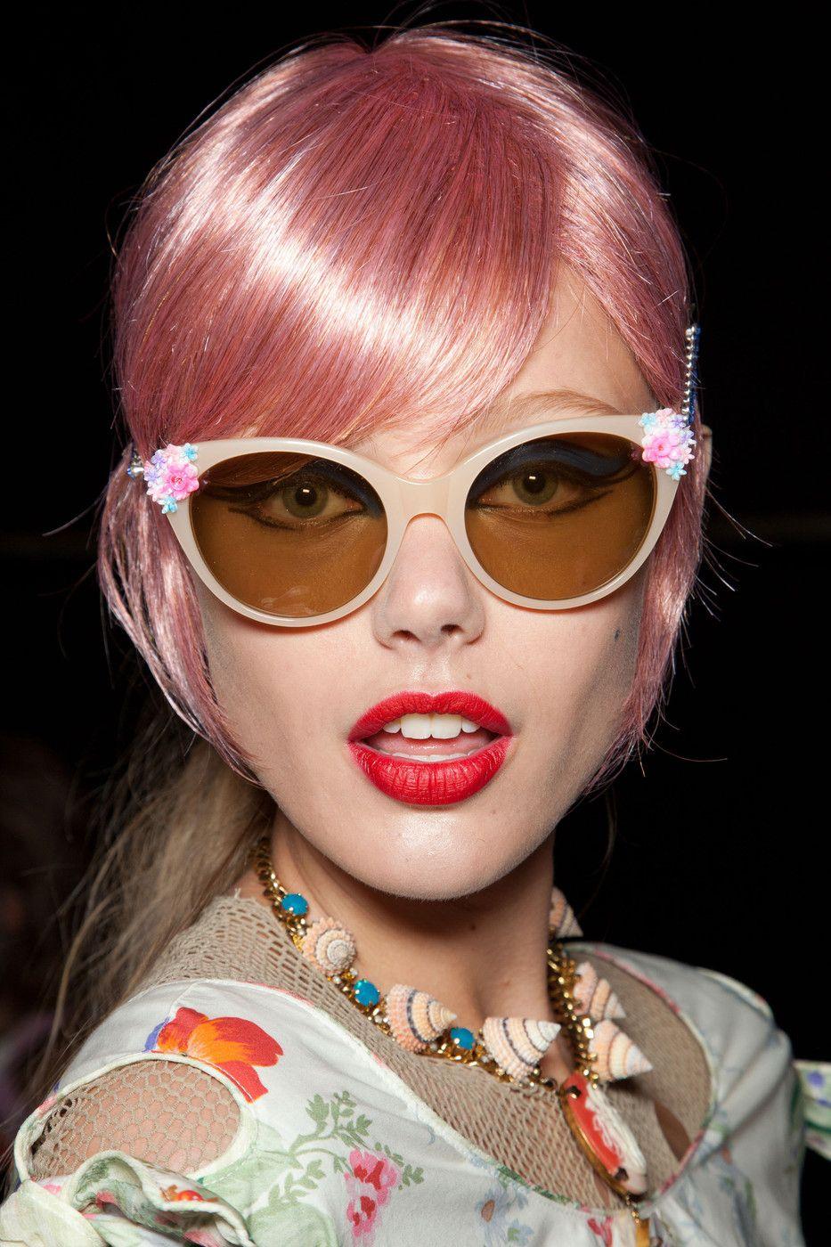Anna Sui Spring 2013. Sunglasses sunglasses #fashion #nice www ...