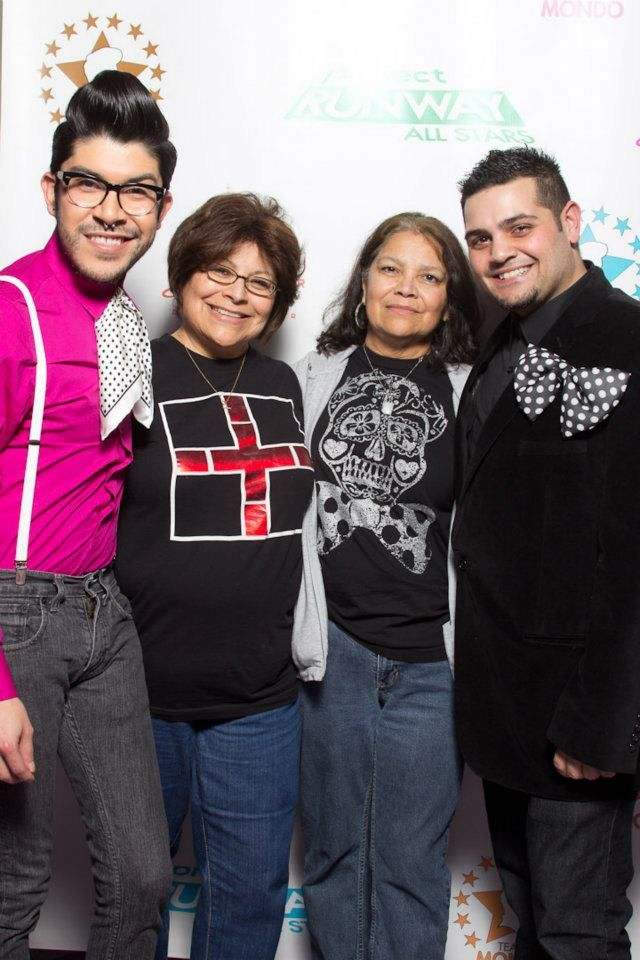 Michael Costello, my mom, aunt and I.
