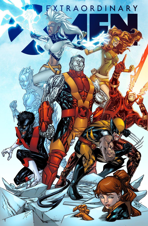 Extraordinary X Men Alonso Espinoza Colors X Men Marvel Comics Art Marvel Superheroes