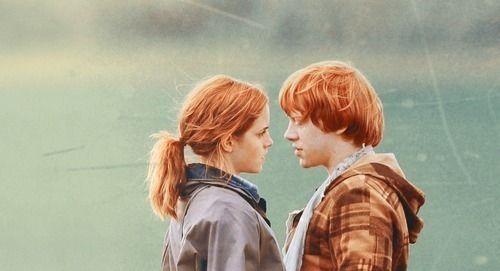 Göra Ron och Hermione dating i verkliga livet