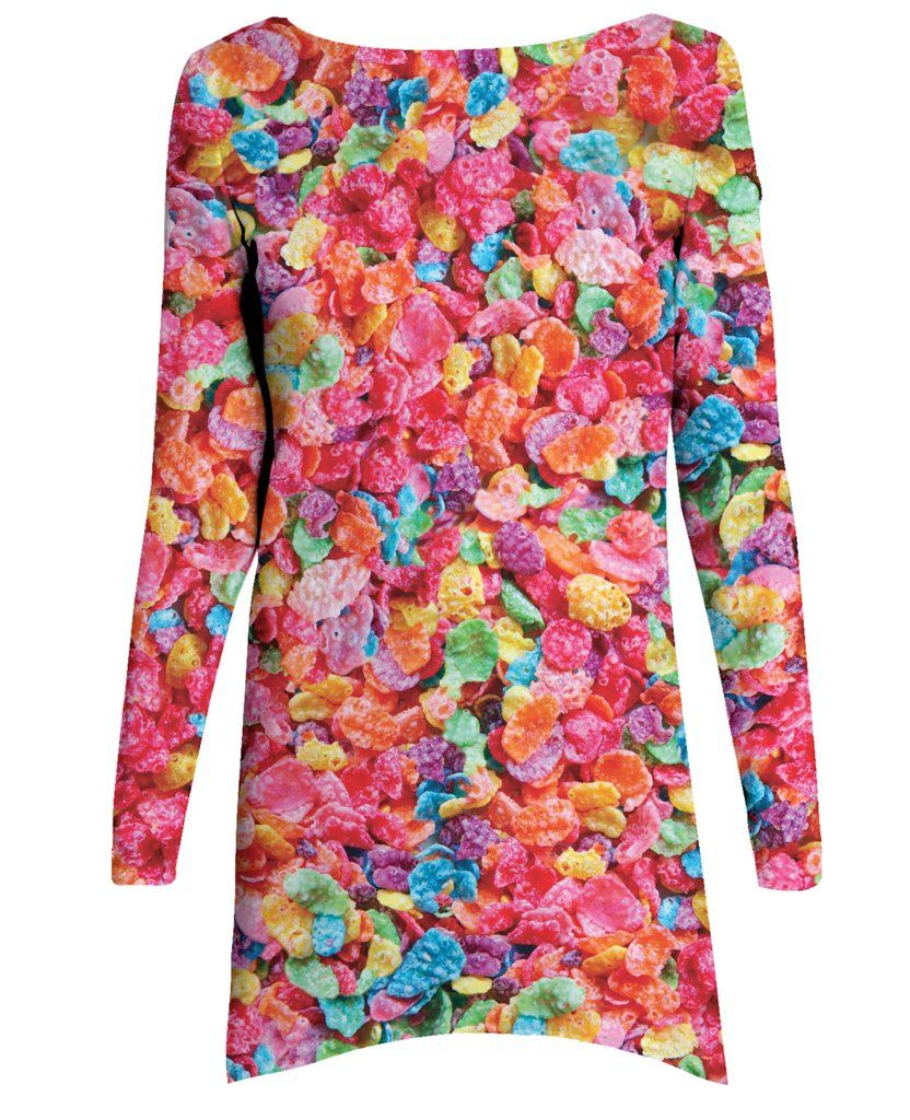 Fruity Pebbles Long-Sleeve Dress (With Images)