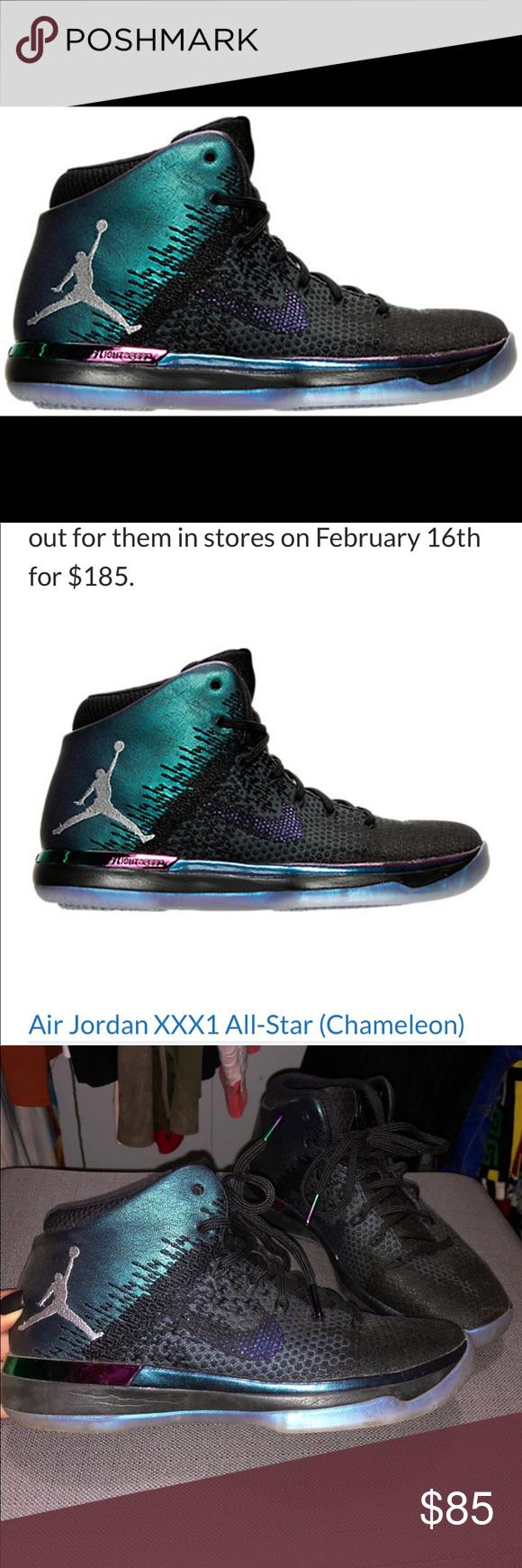 newest 4e42e 9c8a2 Air Jordan 31 Allstars chameleon Like new. Colorways Black ...