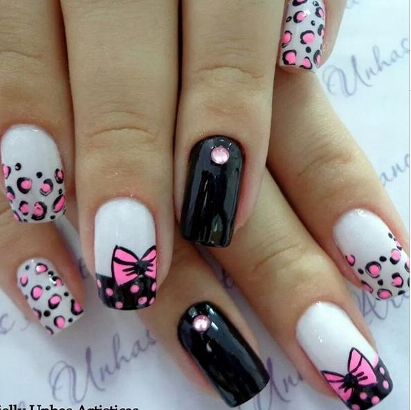 Unhas Decoradas Nails Pinterest