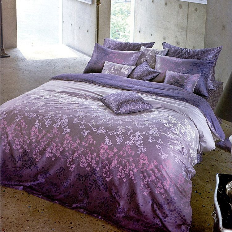purple bedding decorating organization pinterest