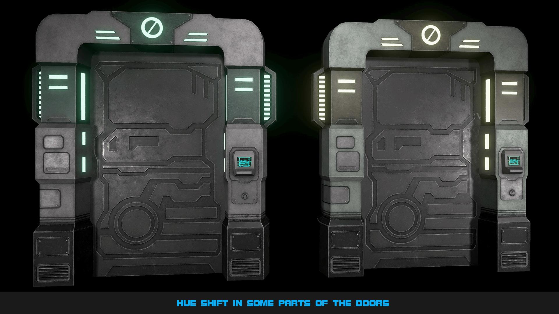 Sci Fi Door Texture In Maya Sci Fi Door Texture Nongzico