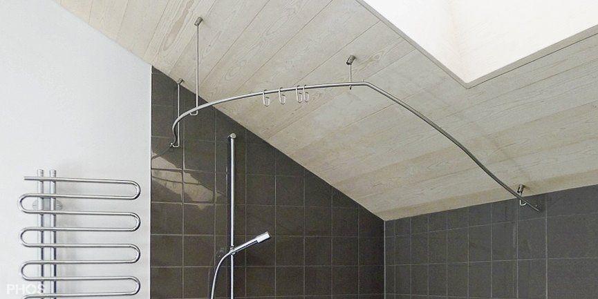 Duschvorhangstange Gerade Und Individuell Nach Mass Duschvorhangstange Dusche Duschstangen