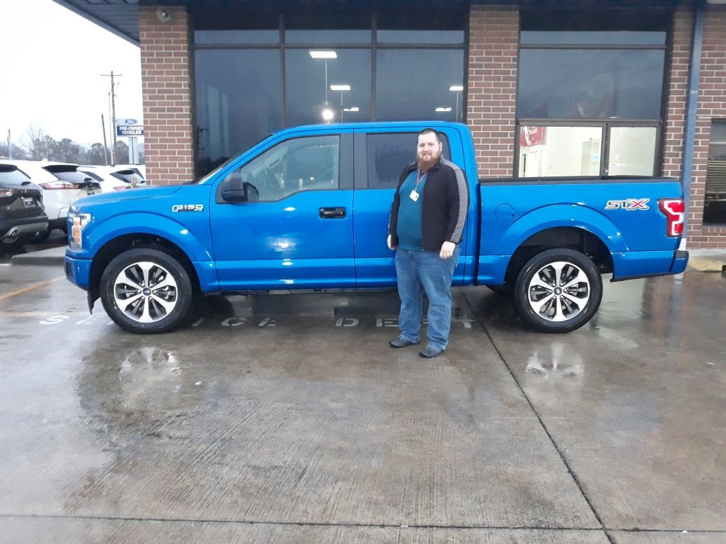 congratulations brandon jackson of chatsworth ga on your new 2020 f 150 stx sold by brian smith we appreciate your busines in 2020 car ford ford news brandon jackson pinterest