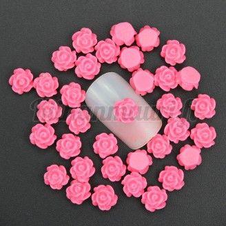 Ruusu kynsikoristeet 50 kpl