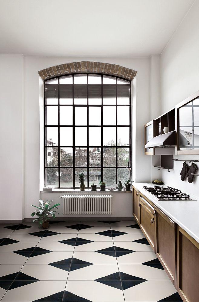 ceramique DAVID B dans cette cuisine au style minimaliste industriel