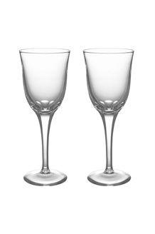 2 copos em cristal com pé Aria<br>18,5 cl