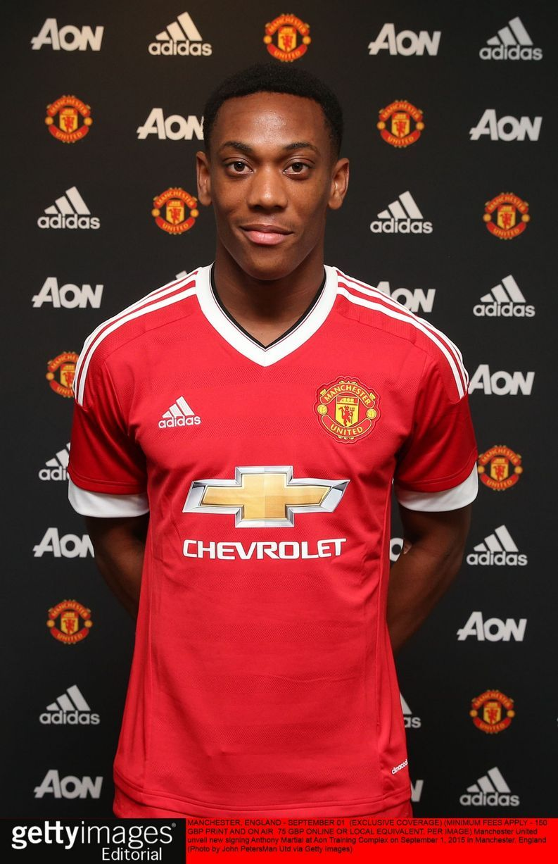 Manchester United Transfers Martial Not Fazed By 36m Fee Manchester United Manchester United Transfer Anthony Martial