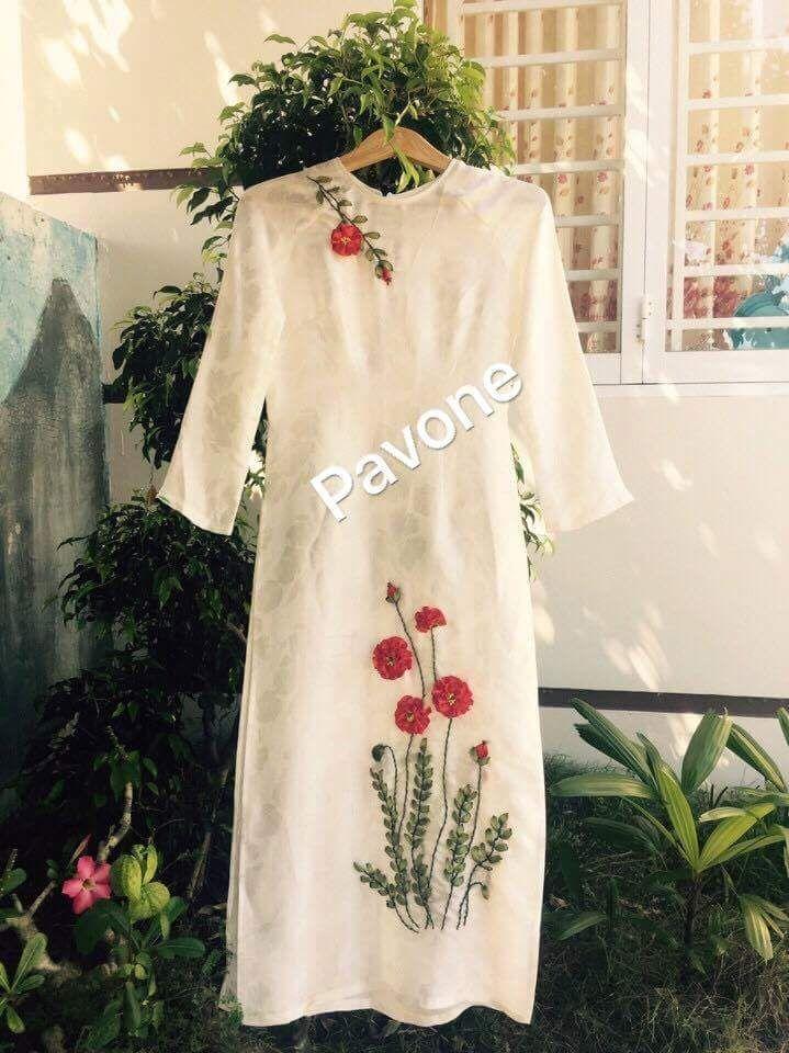 O Di Thu Ruy Bng Mu Thu Pinterest Embroidery Hand