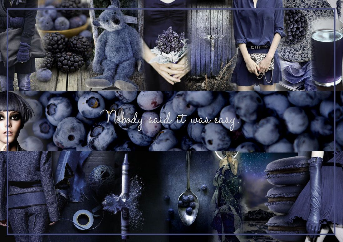 Blueberry hill #moodboards #blueberry http://www.mamzette.com/avril-2014.html