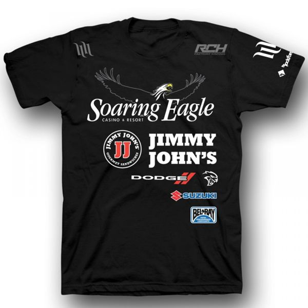 universal soaring eagle jimmy johns suzuki factory racing. Black Bedroom Furniture Sets. Home Design Ideas