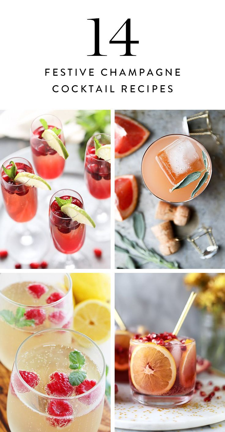 15 Festive Champagne Cocktails to Sip on New Year's Eve