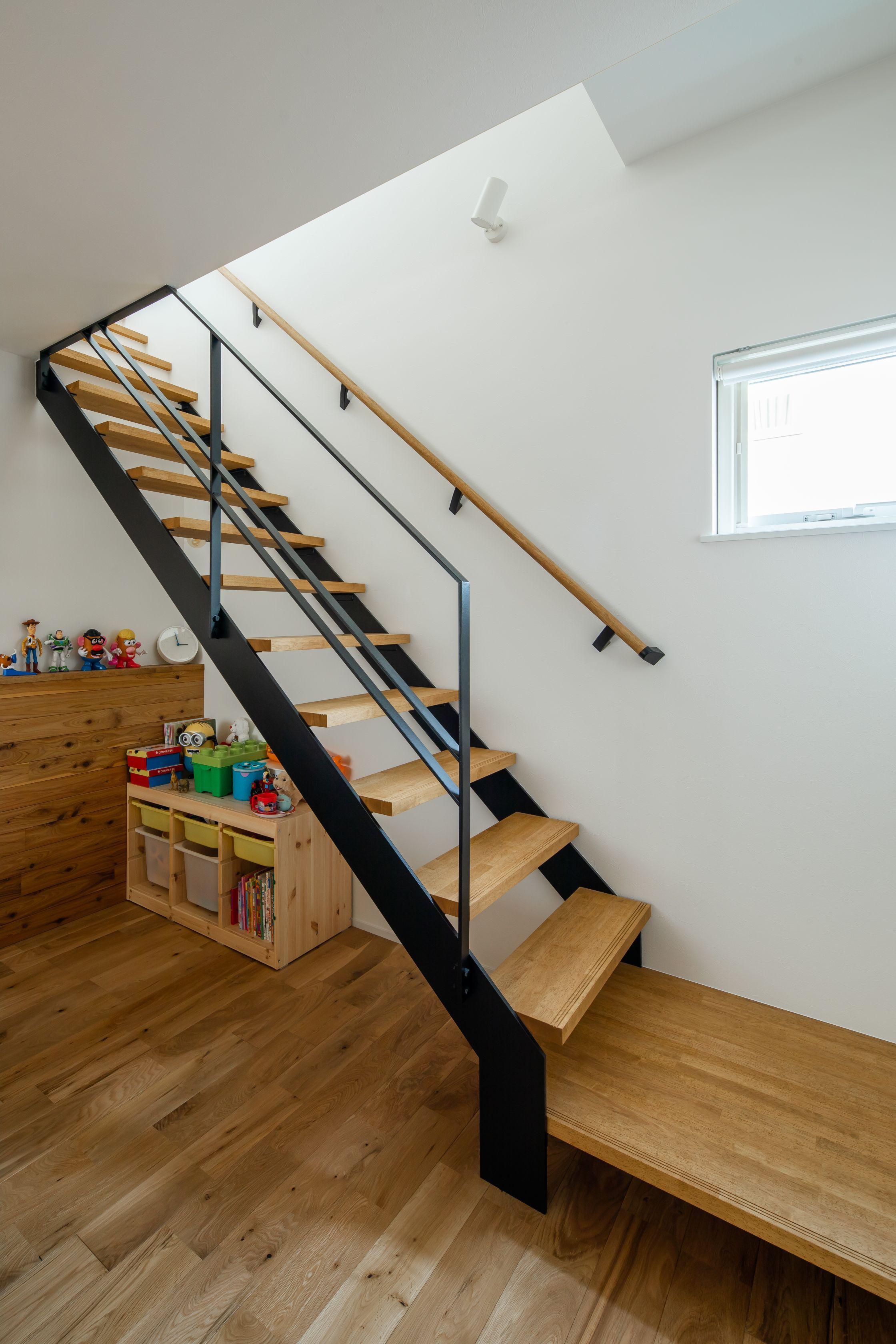 階段 スケルトン