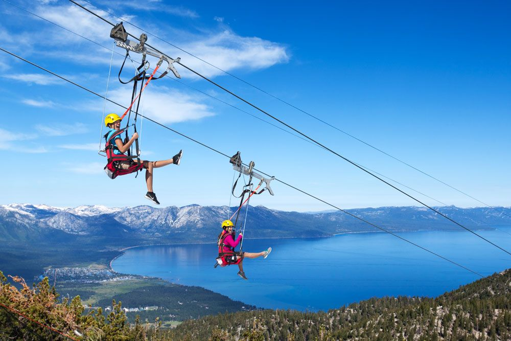 South Lake Tahoe, California Heavenly Blue Streak Zip