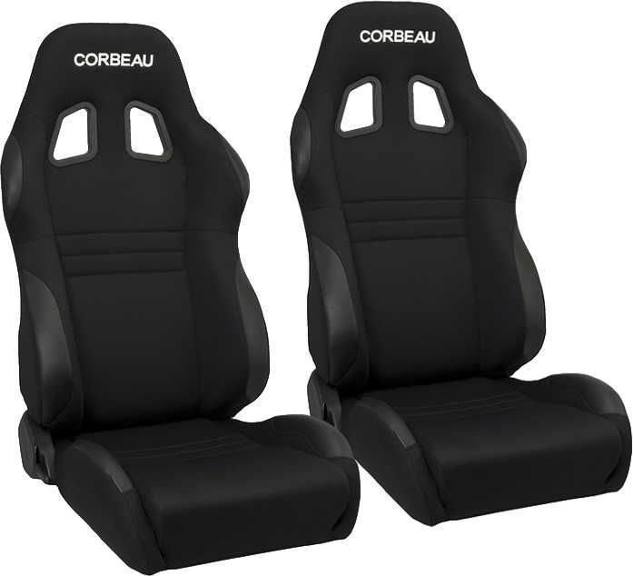 Corbeau A4 Reclining Racing Seat Pair For Jeep Cj 7 Wrangler Yj